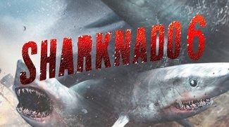 Sharknado 6: Zeitreise-Hai-Sturm mit Nazis, Dinos & der Arche Noah gefällig?