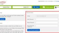 eBay Kleinanzeigen: Passwort ändern – so geht's
