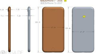 Der überraschende Grund, warum iPhone 7s und 7s Plus dicker werden