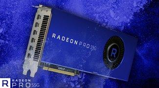 AMD Radeon Pro SSG: Die 6000-Euro-GPU mit 2 TB Speicher