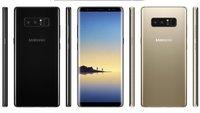 Samsung Galaxy Note 8: Das sind die finalen Spezifikationen