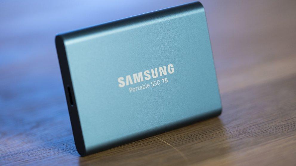 Samsung Portable SSD T5 im Test: Wenn Extern schneller als Intern ist