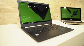 Acer Swift 5 angefasst: Klassisches Notebook ohne Kompromisse