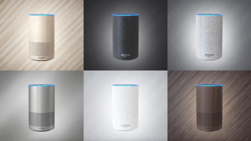 Amazon Echo 2. Generation Farben