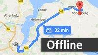 Google Maps: Offline navigieren – so geht's