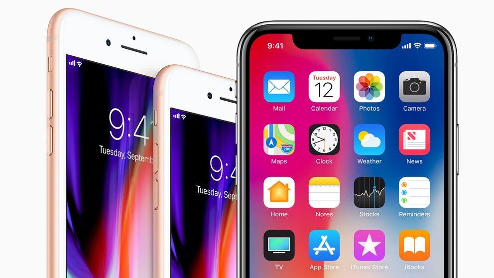 Welches iPhone kaufen? iPhone X, iPhone 8, iPhone 7 und ältere Modelleim Vergleich