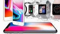 Apple-Event-Zusammenfassung: iPhone X, iPhone 8, LTE-Watch und Apple TV mit 4K