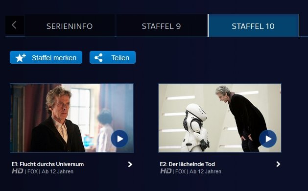 """Wenn ihr mal eine Folge verpasst habt, könnt ihr die """"Wiederholung"""" auch im On-Demand-Angebot von Sky sehen"""