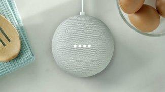 Google Home Mini im Hands-On-Video: Der bessere Amazon Echo Dot