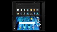 Ausblick auf Galaxy X: Klappbares Smartphone ZTE Axon M vorgestellt