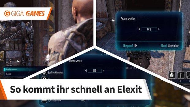 ELEX: mit Glitch 1000 Elexit-Splitter in 10 Sekunden bekommen