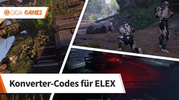 ELEX: Codes für die Konverter in Magalan