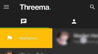 Threema: Chat markieren – so geht's