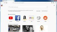 Mit der Firefox Menüleiste alle Funktionen im Browser erreichen