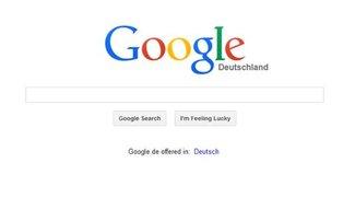 Google auf Deutsch umstellen - so wird's gemacht