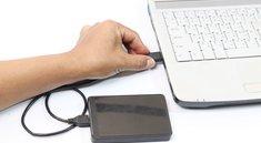 Anleitung: So zeigt ihr eure externe Festplatte wieder an