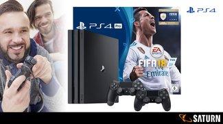 Anpfiff zum 4. Türchen – mit der Sony PlayStation 4 Pro 500 GB & FIFA 18