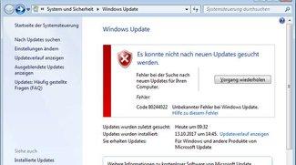 Lösung: 0x80244022 Windows Update-Fehler