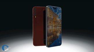 Huawei P11 im iPhone-X-Design: So würde es aussehen