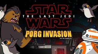 Porg Invasion: Star Wars-Minispiel erobert Facebook