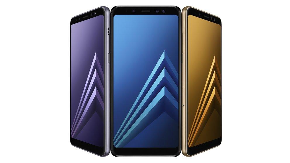 Samsung Galaxy A8 (2018): Kleines Galaxy S8 geht in Europa in den Verkauf – mit einem Haken
