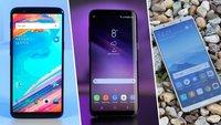 Umfrage: Die besten Android-Smartphones des Jahres 2017