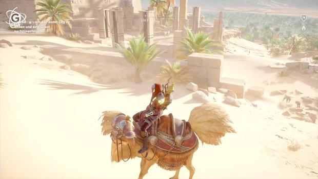 Assassin's Creed - Origins: Sonnenuhr-Rätsel lösen und Chocobo bekommen - so geht's