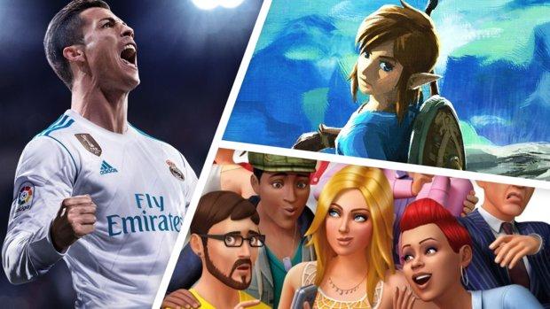 Das waren die erfolgreichsten Spiele 2017 in Deutschland und Europa