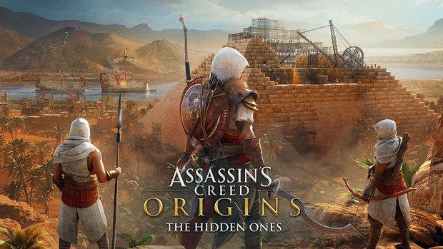 """Assassin's Creed - Origins: Das erwartet dich im ersten DLC """"Die Verborgenen"""""""