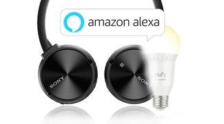 Amazon Angebote: Sony Bluetooth-Kopfhörer, Alexa WLAN-Lampe, Philips Monitor