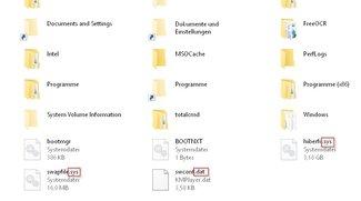 Dateiendung anzeigen und ändern bei Windows