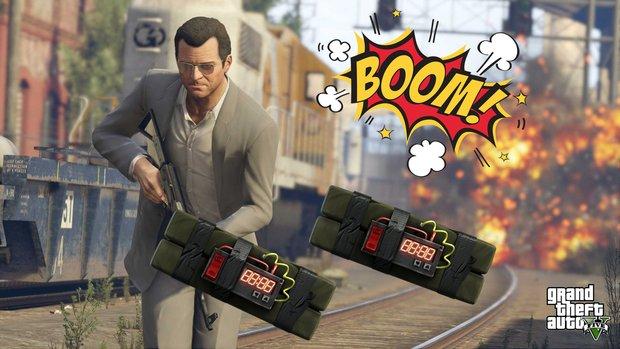 GTA 5: Haftbombe zünden - so geht's (Kurztipp)