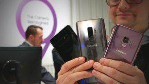 Galaxy S9 (Plus) vs. Galaxy Note 8: Samsungs Flaggschiffe im Video-Vergleich