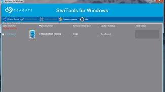 SeaTools für Windows