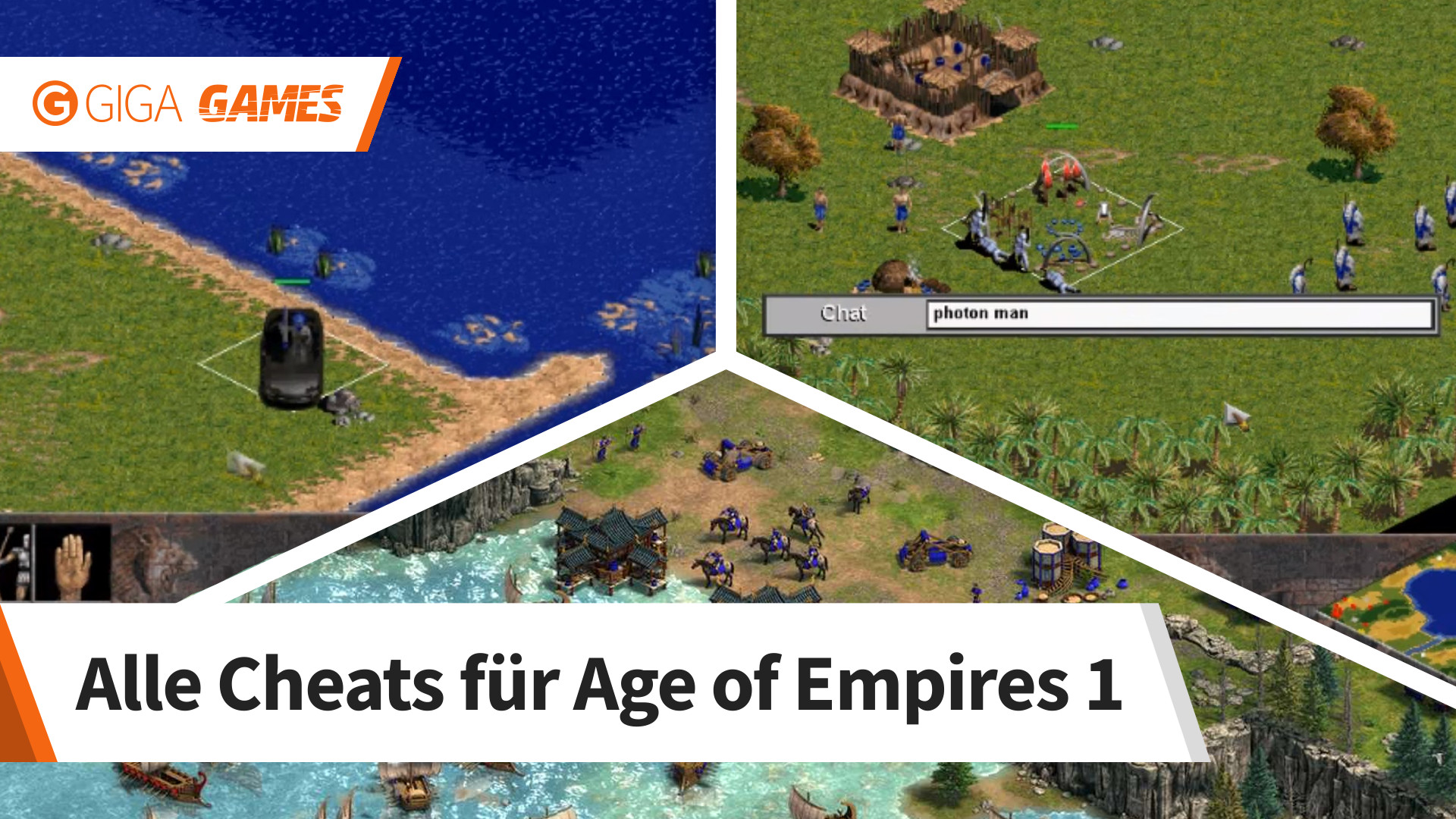 Age of empires photon man Age of Empires Cheats & Codes for PC - m