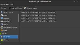 Linux: CPU-Info und Auslastung anzeigen – so geht's