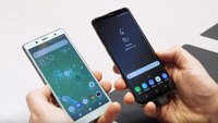 Samsung Galaxy S9 vs. Sony Xperia XZ2 Compact: Die Top-Smartphones im Video-Vergleich