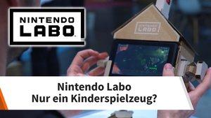 Nintendo Labo: Mit viel Pappe zurück in die Kindheit