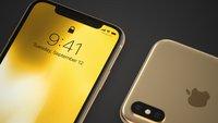 iPhone X in Gold: So umwerfend würde das Smartphone aussehen
