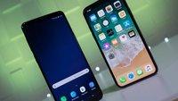 Galaxy S9 Plus vs. iPhone X: Das Beste von Samsung und Apple im Vergleich