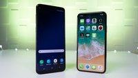 Samsung Galaxy S9 schlägt iPhone X: In dieser Disziplin hat das Apple-Handy keine Chance