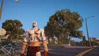 GTA 5: Neue Mod lässt dich Los Santos mit Kratos unsicher machen