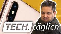 Goldenes iPhone X abgelichtet, Apps gegen Heuschnupfen und Samsung-Smartphone ohne Internet – TECH.täglich