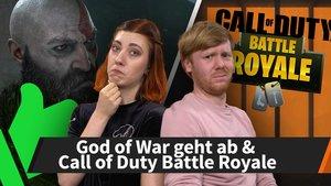 Die News der Woche: God of War geht ab, CoD goes Battle Royale und mehr