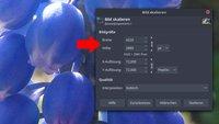 GIMP: Bild & Dateigröße verkleinern – so geht's