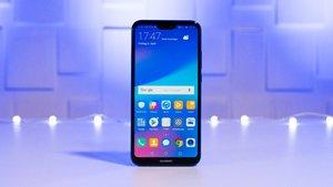 Huawei P20 Lite in Bildern: Metalllos durch die Nacht