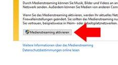 Windows 10: DLNA-Server einrichten – so geht's