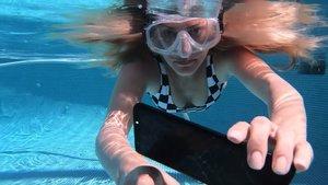 Geniale Samsung-Technik: Dieser Touchscreen funktioniert auch unter Wasser