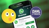 WhatsApp: Die Anzahl aller Nachrichten sprengt die Vorstellungskraft