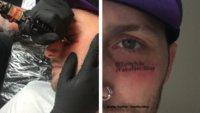 Twitch: Streamer trollt seine Zuschauer mit Gesichts-Tattoo